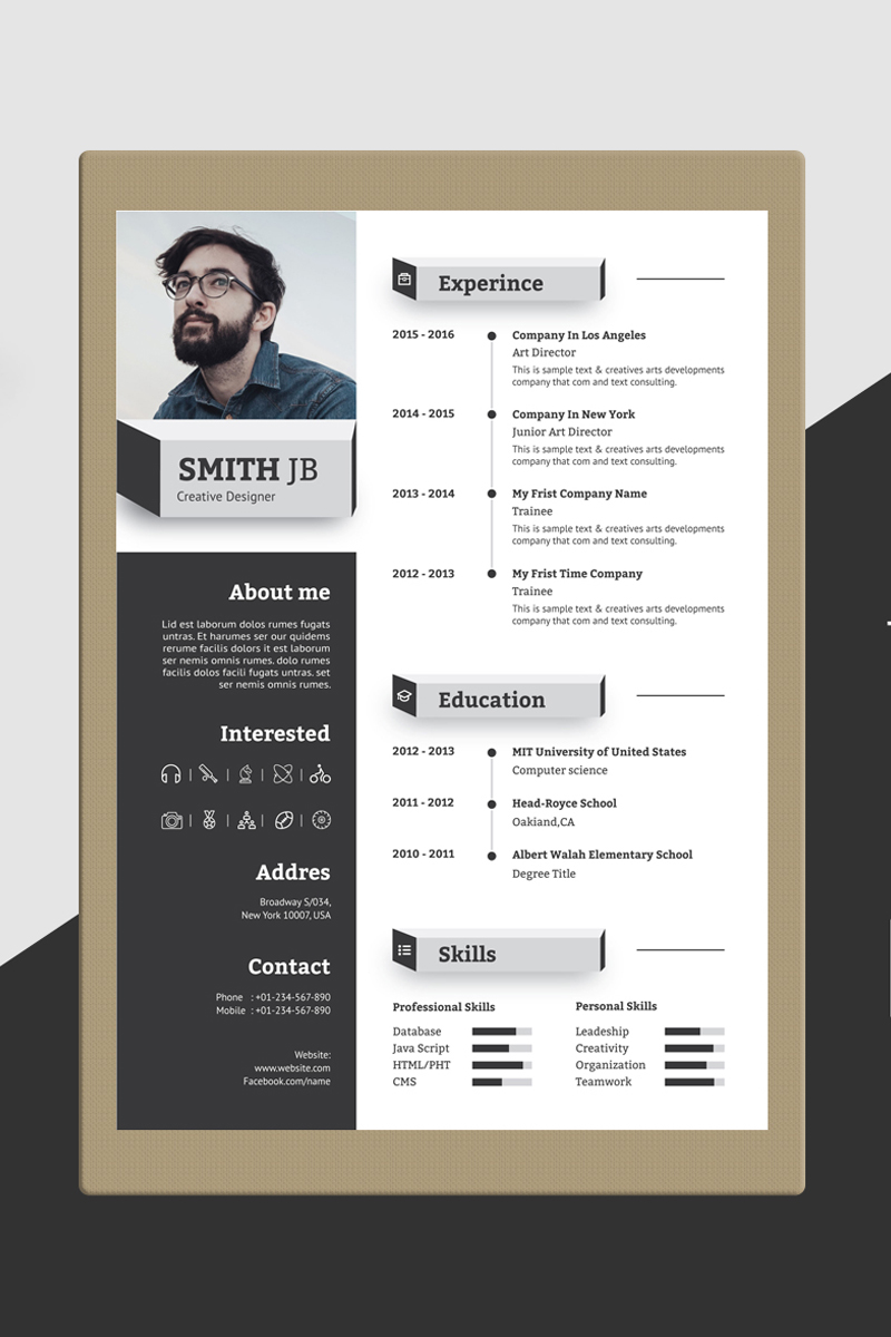 pin by entheosweb on creative resume templates  with