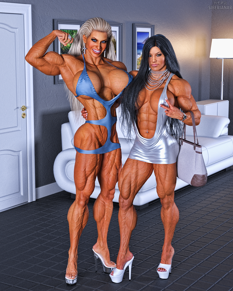 Muscle Les filles candides 2 Par Siberianar Deviantart Com sur-3632