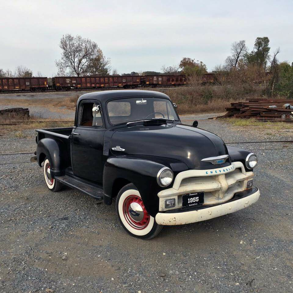 1955 chevrolet truck 3200 standard cab pickup 2 door 3 8l -  54 Chevy More
