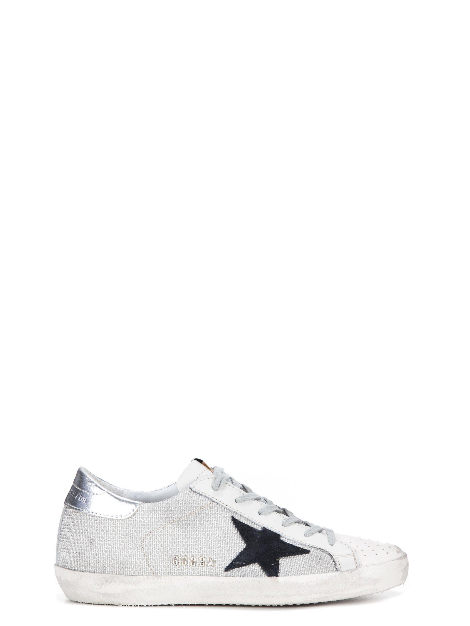 Golden Goose Mens White Blue Pat... outlet footlocker finishline exclusive cheap online cheap sale ebay sneakernews cheap online free shipping 2014 new cXtjRD3T