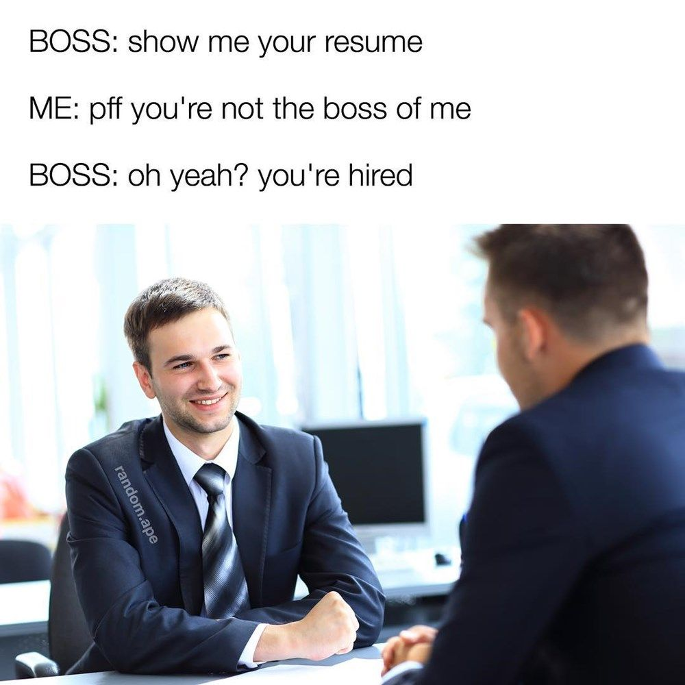 13 Ridiculous Job Interview Memes Funny Memes Work Humor Funny Pictures