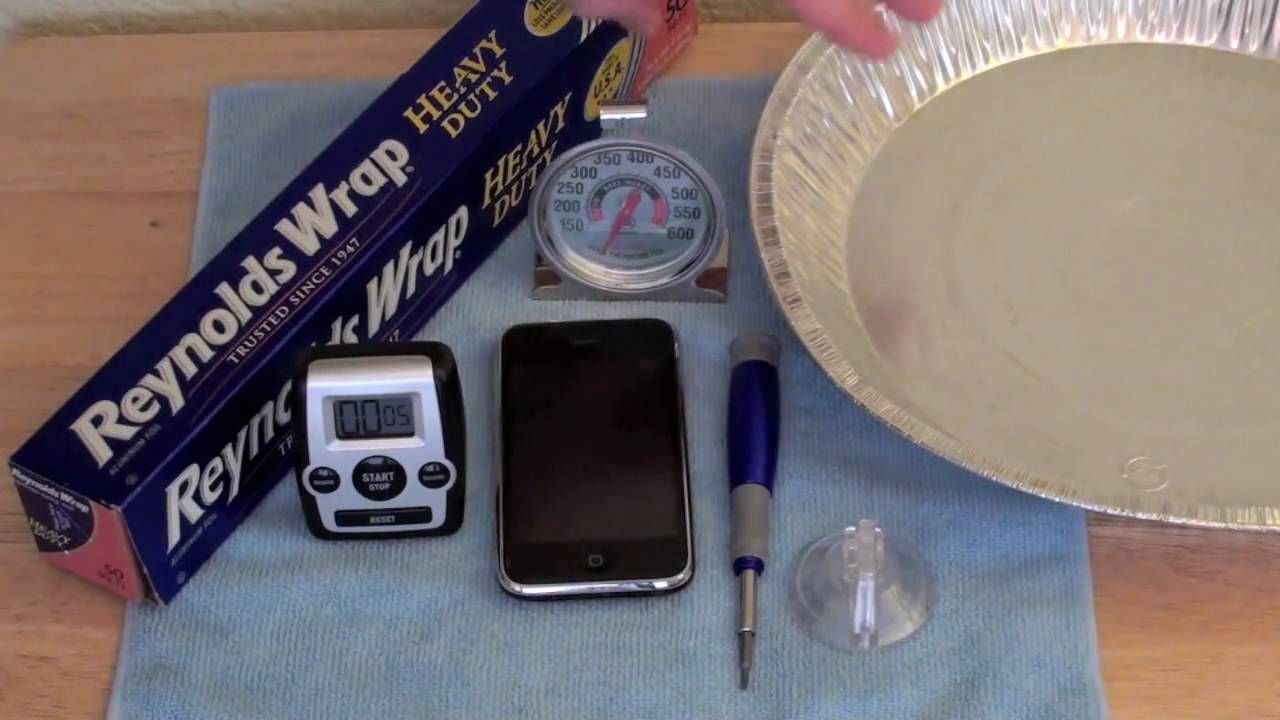 How To Fix Oven Iphone Wifi Repair Oven Fix Reflowing The Pcb Also Works On