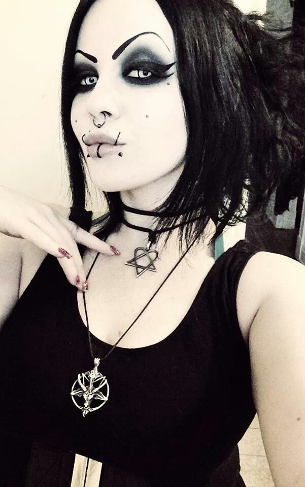 Goth girls with piercings