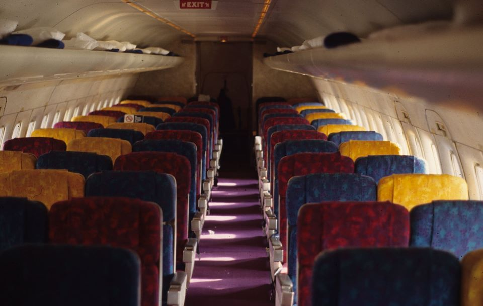 Eastern dc9 cabin aircraft interiors airline interiors