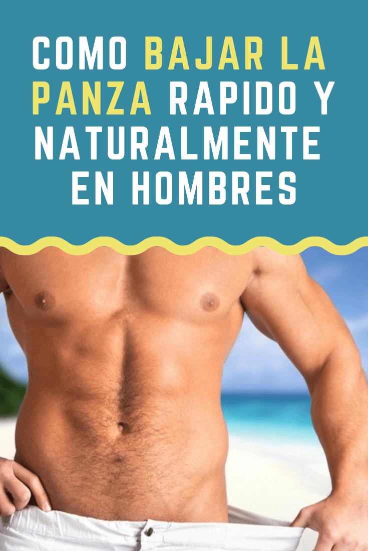 como desmontar la vientre rapidamente en hombres
