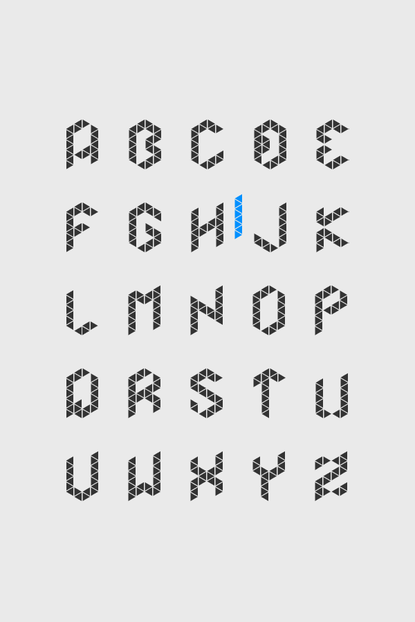 Font Merkur by Malwin Béla Hürkey, via Behance