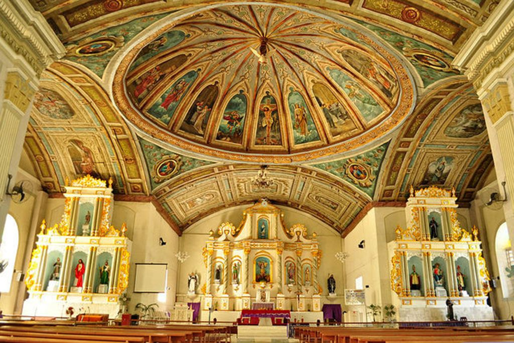 A Glimpse Into Heaven Photographing The Most Beautiful Church Paintings In The Philippines