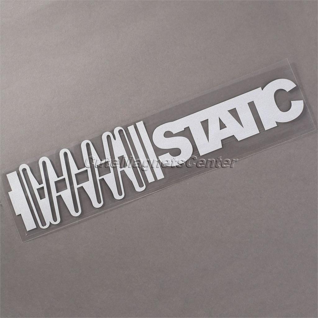 Arabastyling Vinil Araba Tampon Sticker Su Geçirmez Statik - Letter stickers for cars
