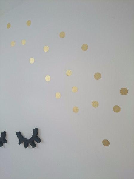 Wandtattoo Konfetti Gold Konfetti, Wandtattoos und Bäckerei - wohnideen tine wittler