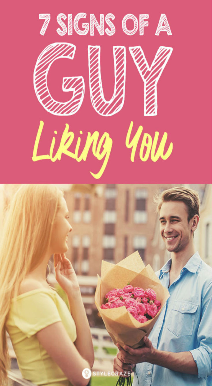 7 Steps To Read The Signs Of A Guy Liking You - Daily Rumors