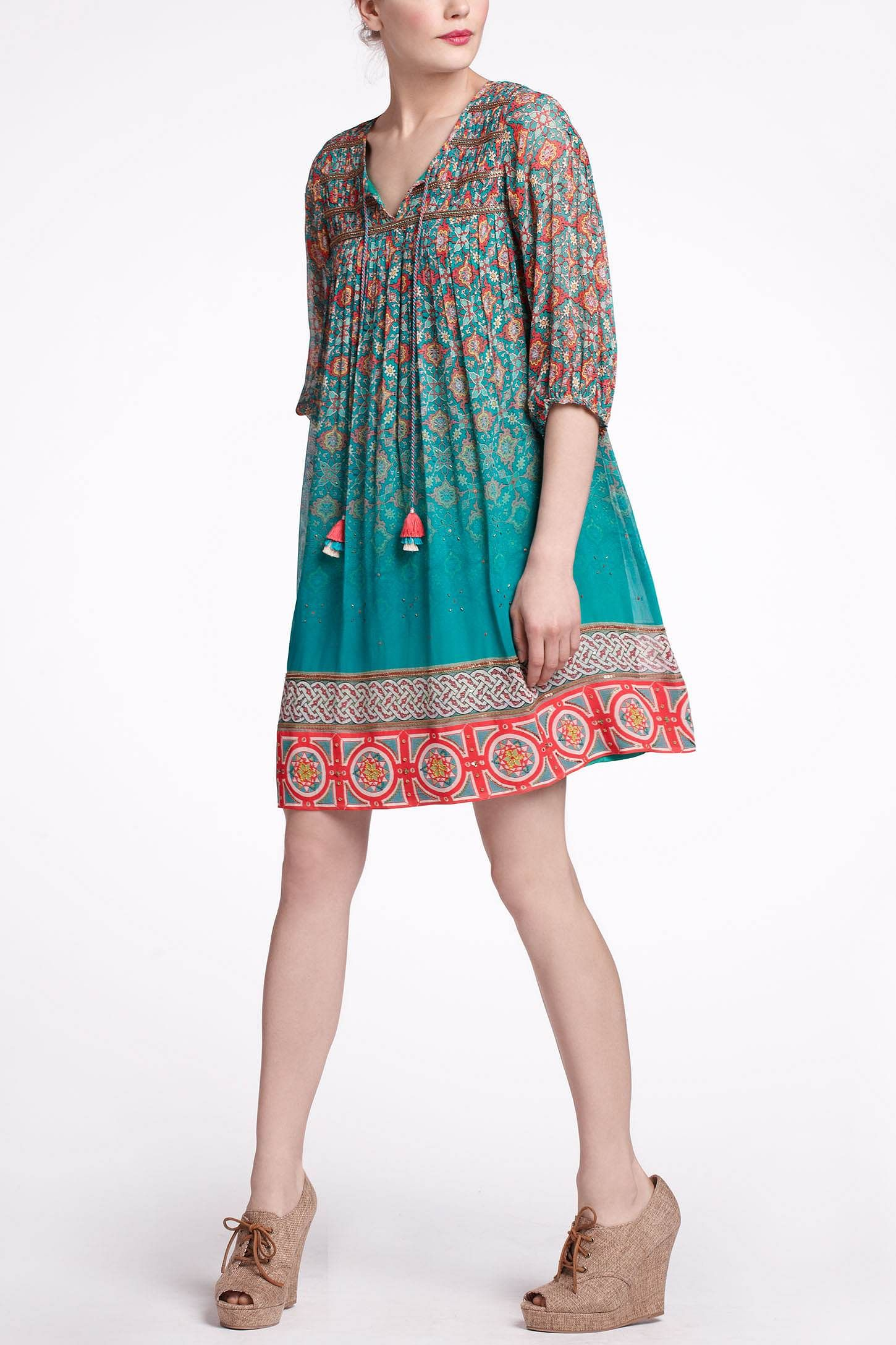Glimmered Ankita Dress - Anthropologie.com