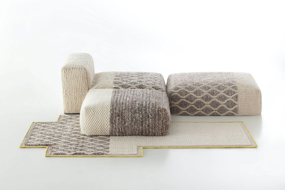 Mangas Spaces composition by Patricia Urquiola for Gan Rugs - carpet