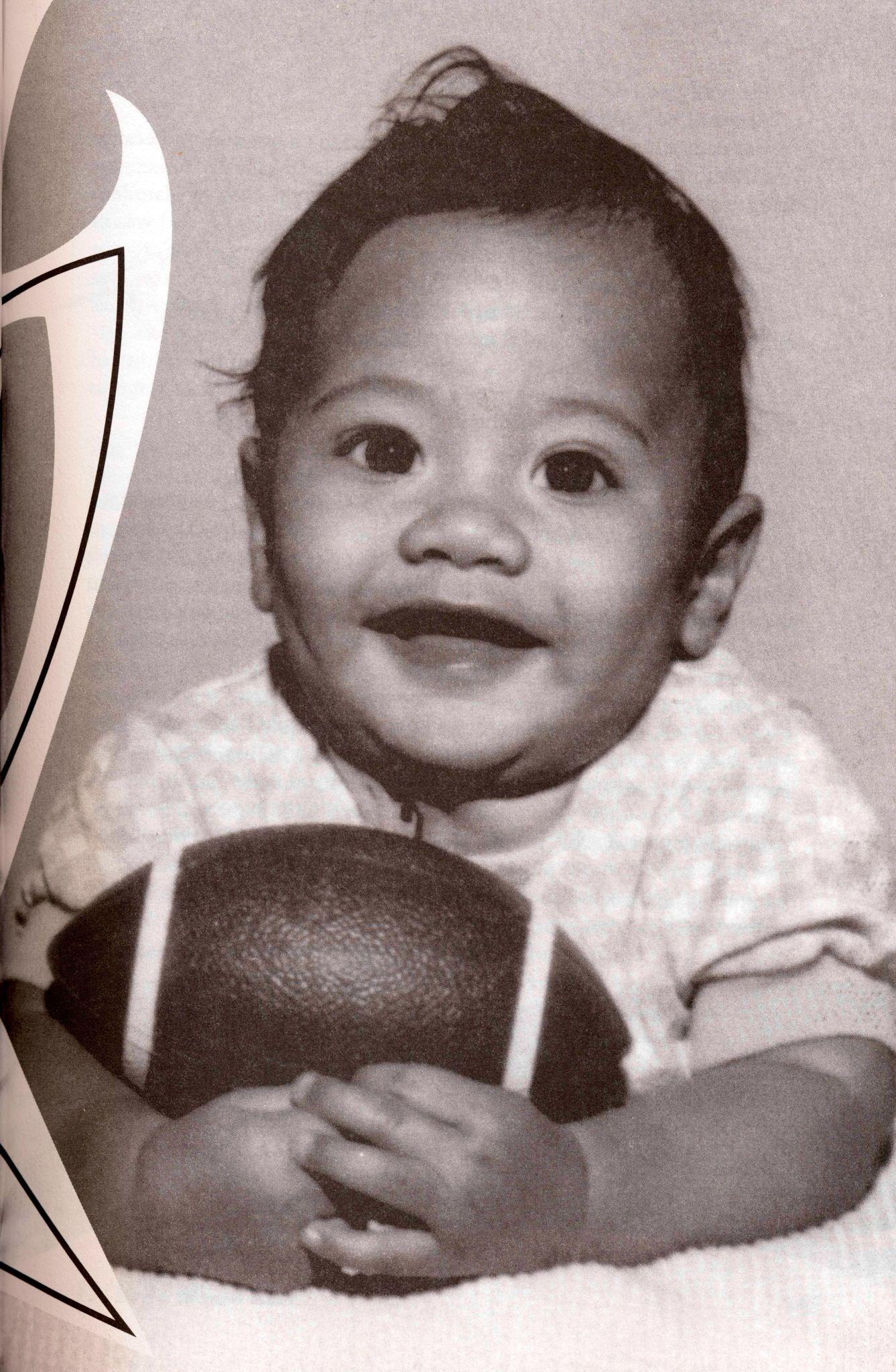 Dwayne Johnson The Rock As A Baby The Rock Dwayne