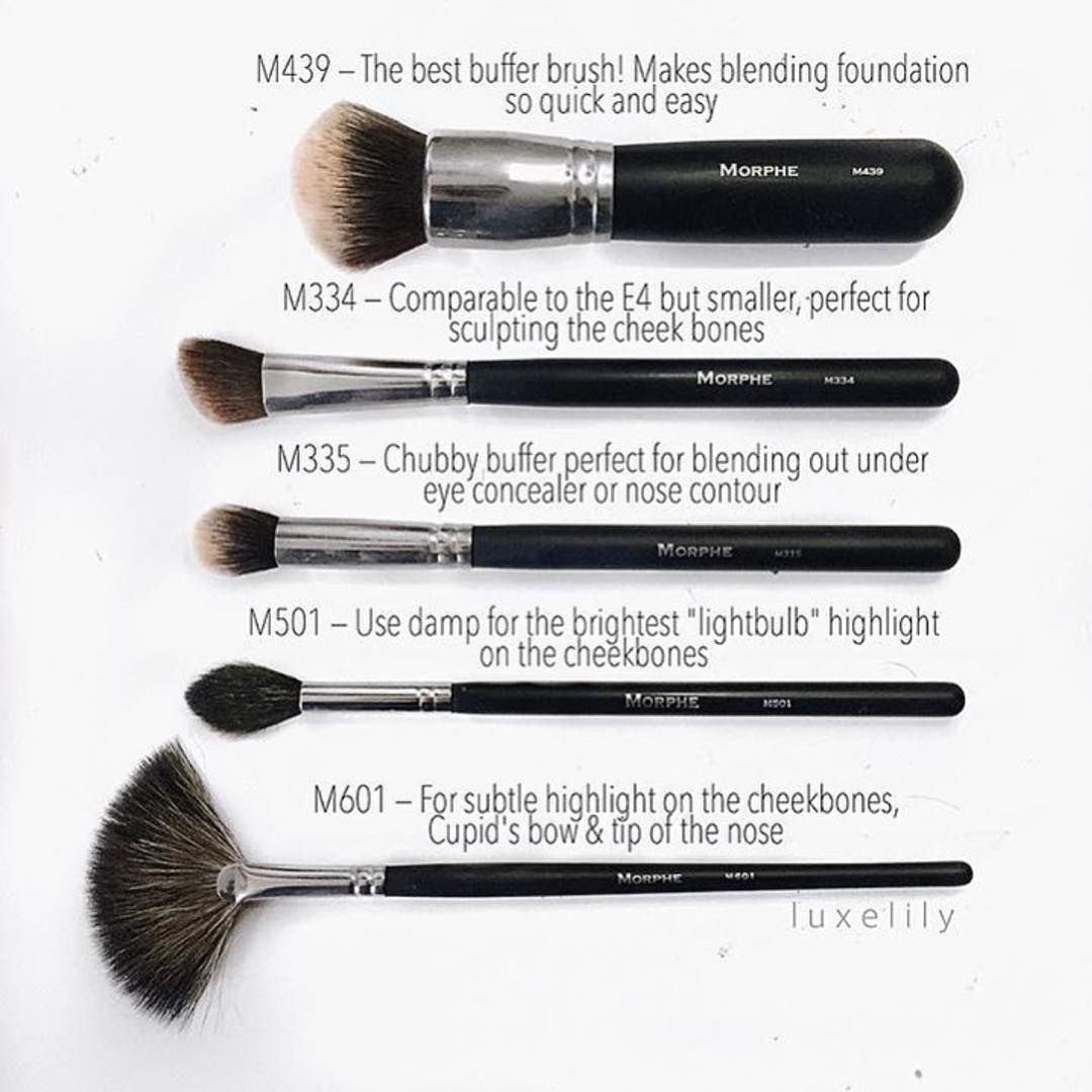 """If you're just starting your Morphe collection these"