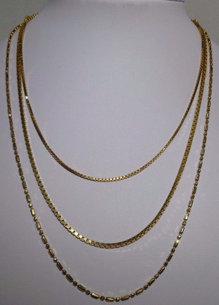 gold chains cm grams italian long chain auctions