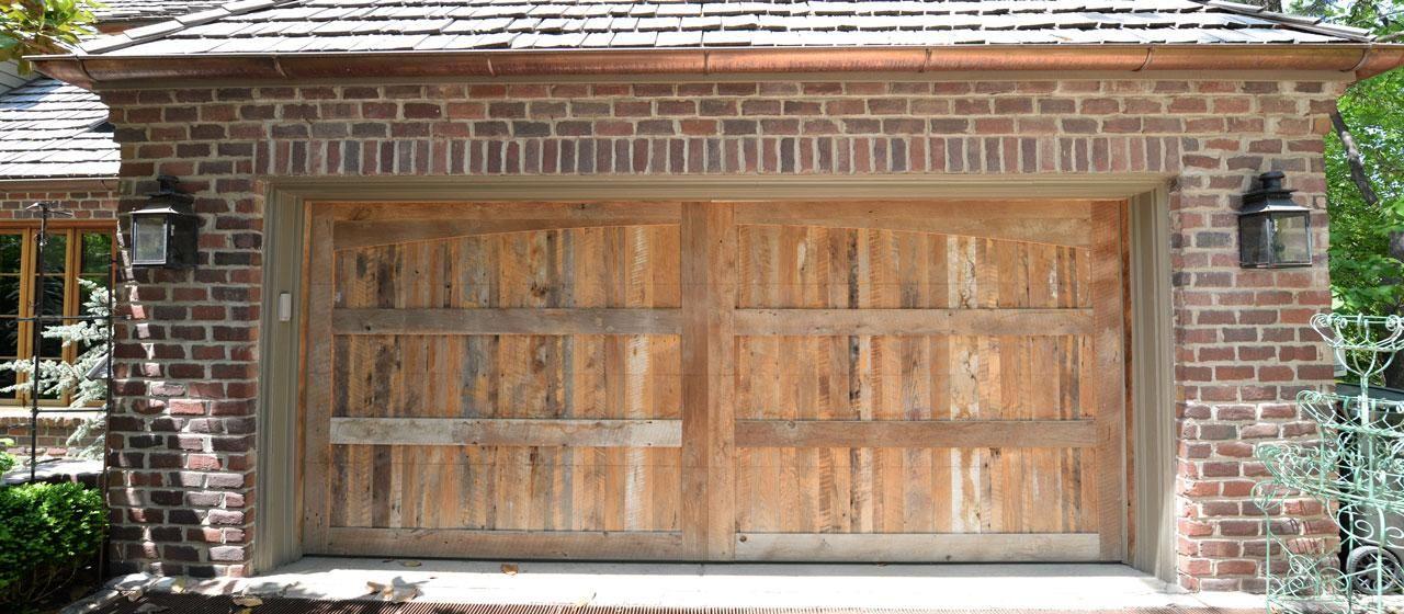 Reclaimed Antique Oak Rustic Wood Paneling Wood Garage Doors, Custom Garage  Doors, Best Garage - Reclaimed Antique Oak Rustic Wood Paneling Rustic Garage Doors