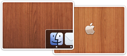 Awesome wooden wallpapers for your Mac :)
