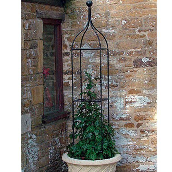 Wrought Iron Plant Supports Haddoncraft Wrought Iron Plant