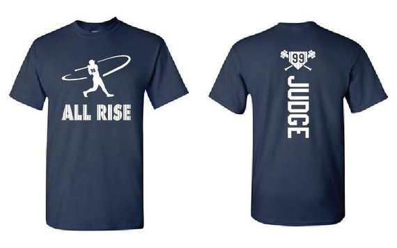 5d6695e81 New York Yankee T-Shirts -Aaron Judge T-Shirt - ALL RISE | Products ...