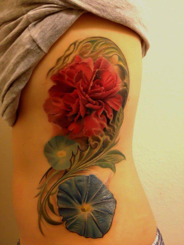 50+ Examples of Colorful Tattoos « Cuded – Showcase of Art & Design