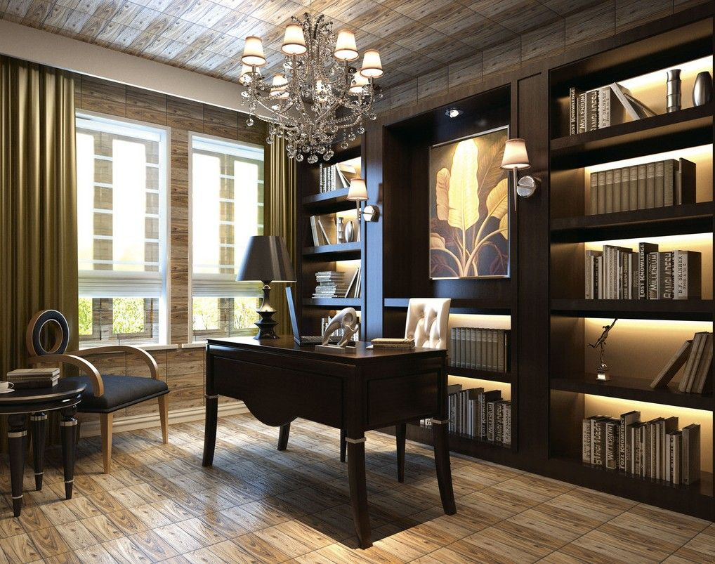 High Resolution Study Interior Design 5 Room