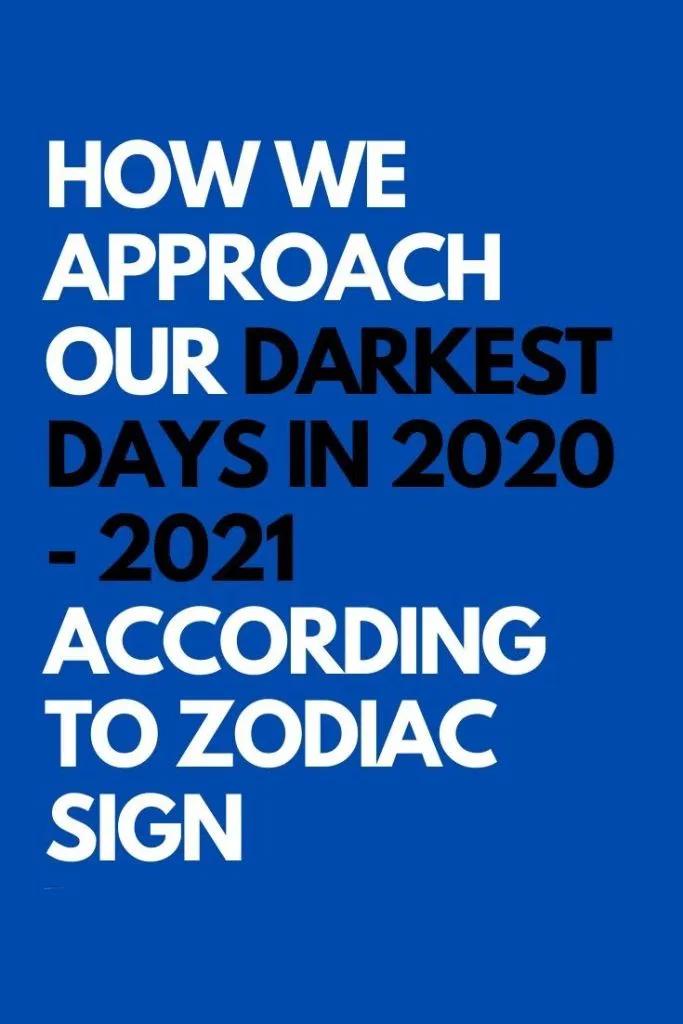 Horoscope days 2021 calendar