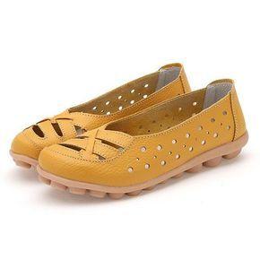vider Glissement De Couleur Pure Respirant Casual Chaussures Plates t4nXSVM