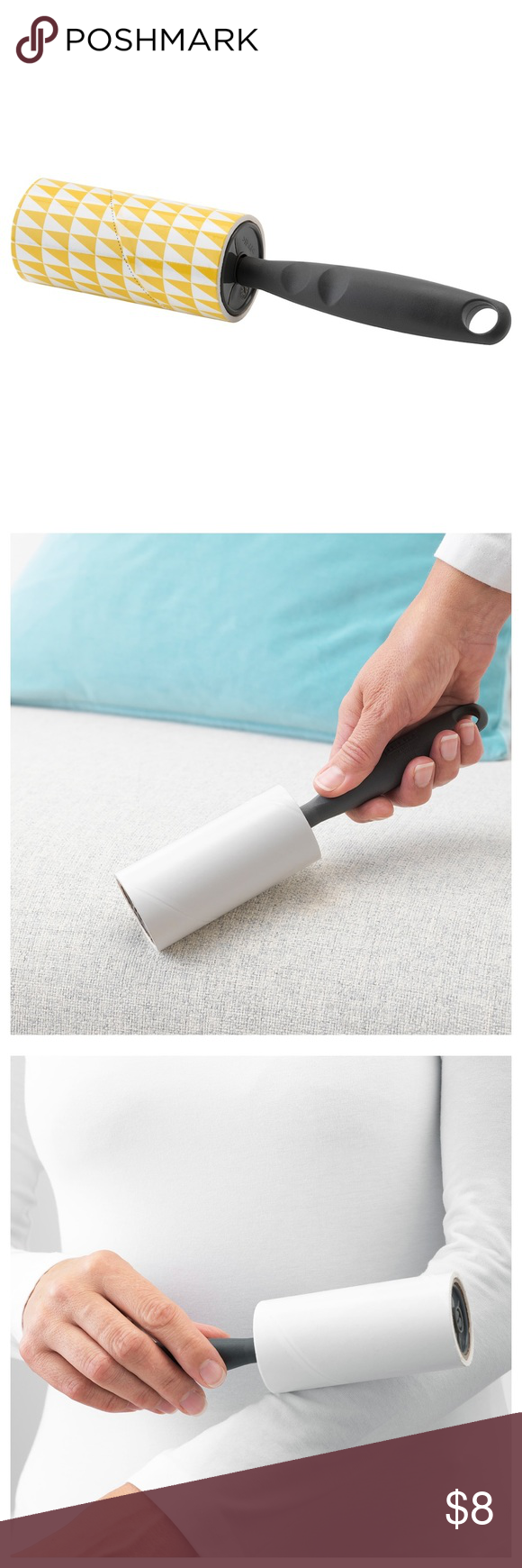 Lint Roller Comes With Extra 4 Rolls In 2020 Lint Lint Roller Roller