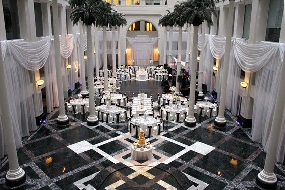 The Atrium At Curtis Center My Dream Reception Spot