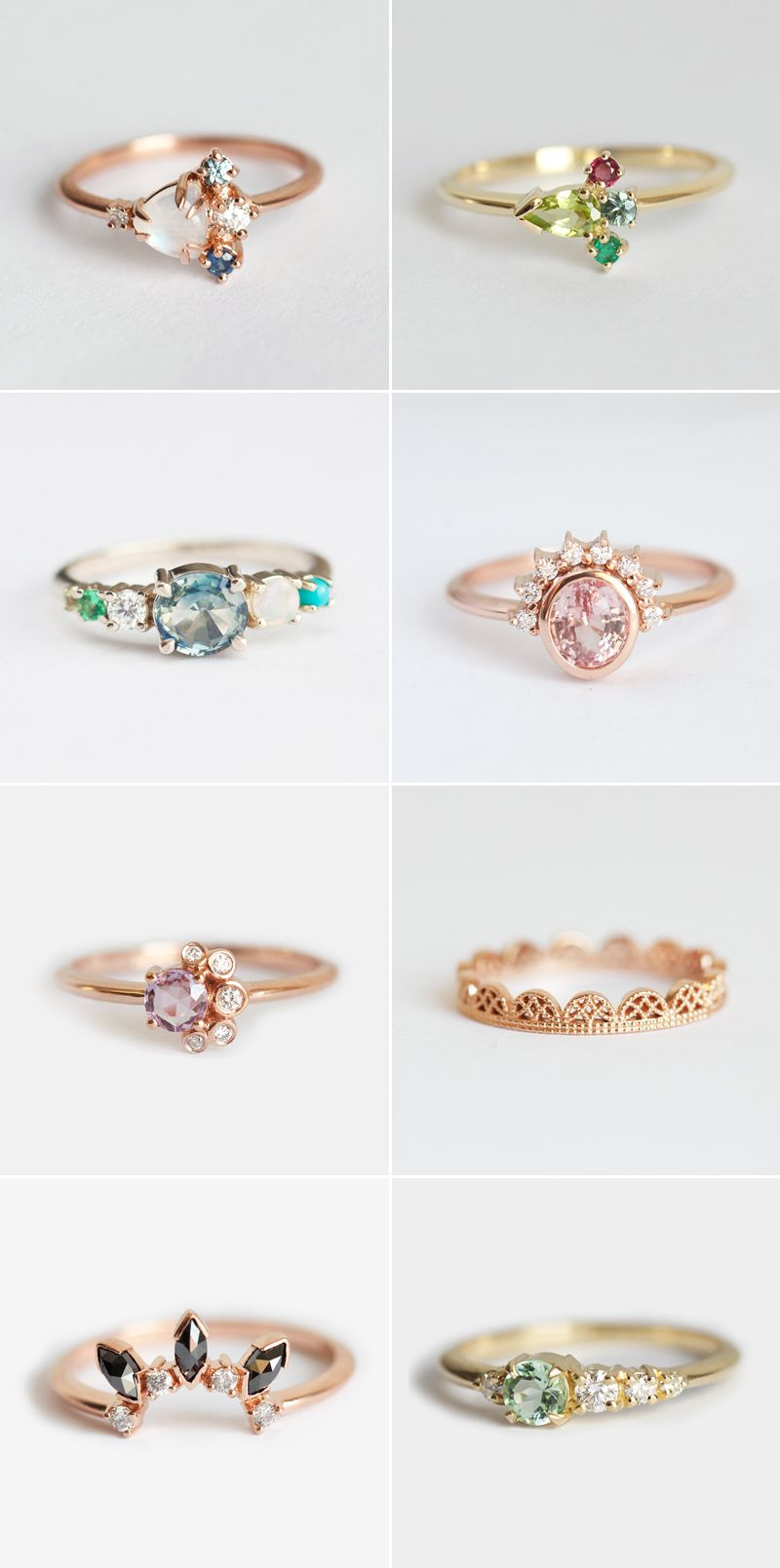 43316e5b859699 34 Gorgeous Alternative Engagement Rings You'll Want To Say Yes To ...