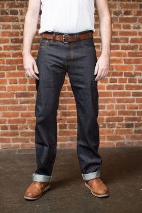 bfff7f81f3 Ankara - Straight Leg Selvedge Jeans - 14.75 oz.