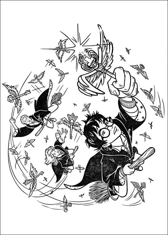 harry potter key | Coloring pages | Pinterest | Vorlagen