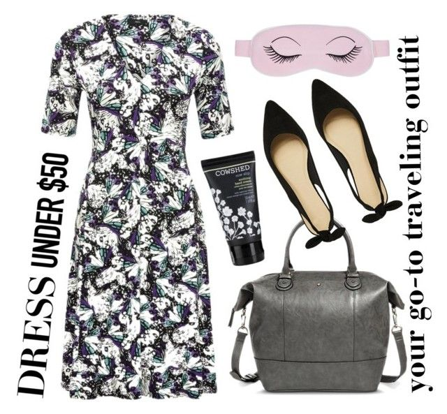 """Dress Under $50: Traveling Day"" by beetlescarab ❤ liked on Polyvore"