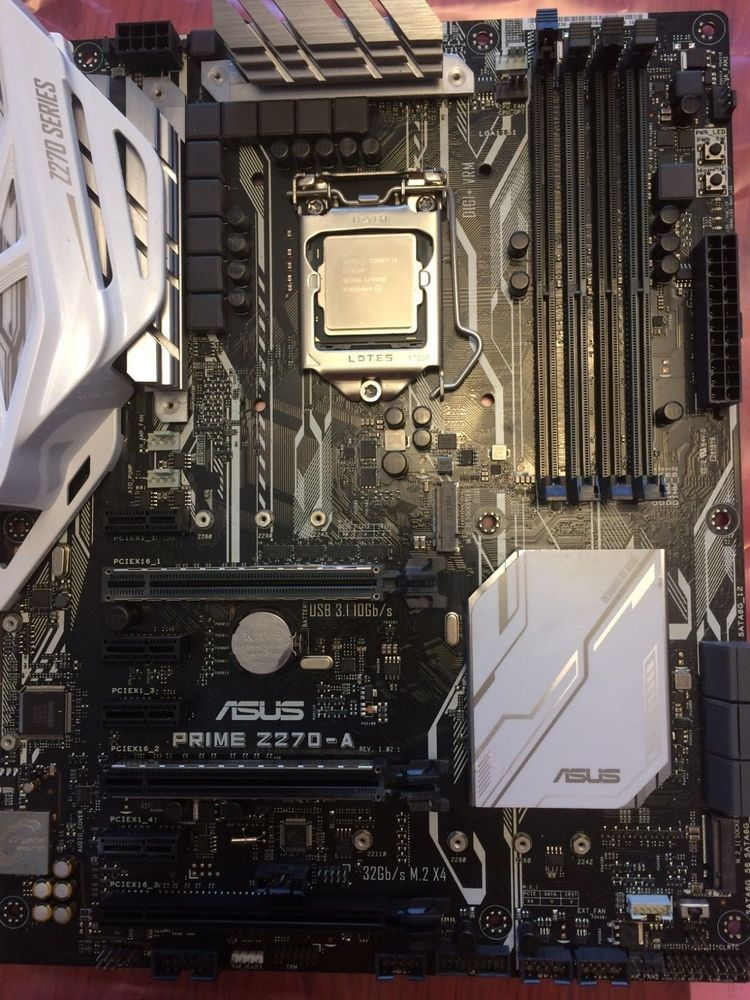 Intel core i3-6100 CPU and ASUS PRIME Z270-A Motherboard   eGaming