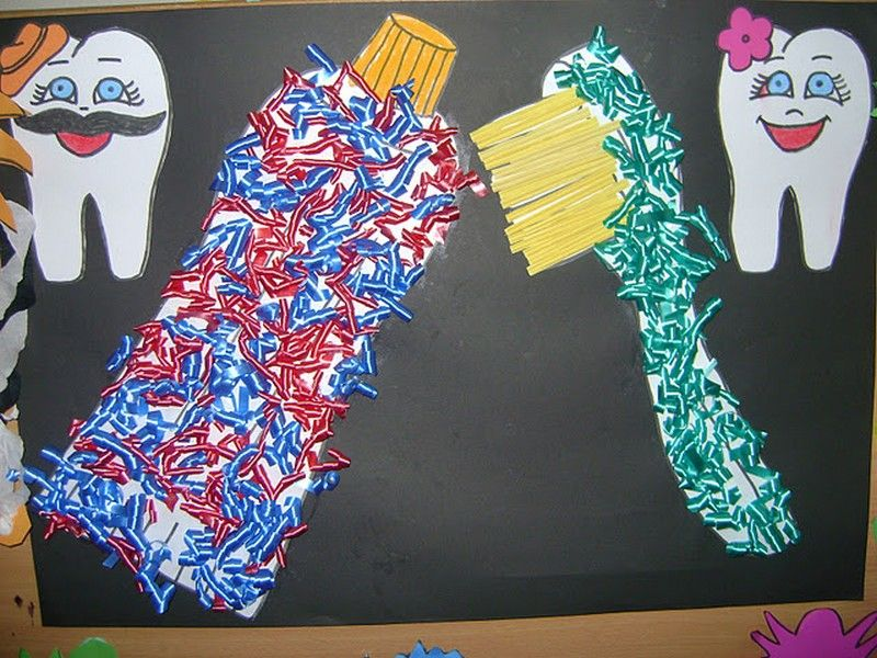 Dental Health Month craft idea for kids | Crafts and Worksheets ...