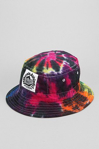 ff9a9ce7a Milkcrate Athletics Tie-Dye Bucket Hat in 2019 | DOPE Hats | Hats ...