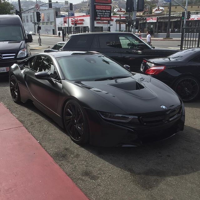 Instagram Media By Rdbmano All Black Everything Bmw I8 Rdbla