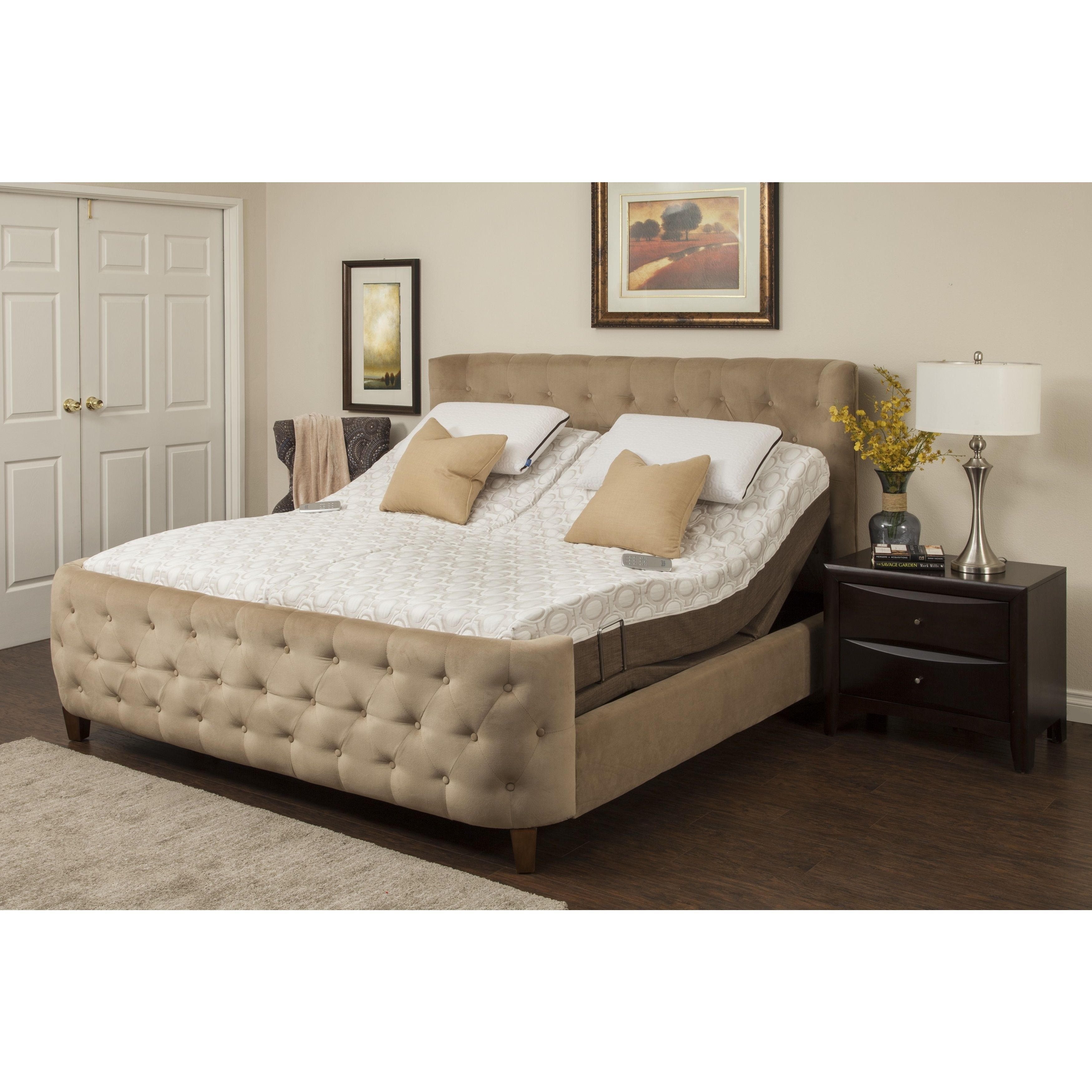 Sleep Zone Blissful Nights Dahlia 11 Inch King Size Memory Foam
