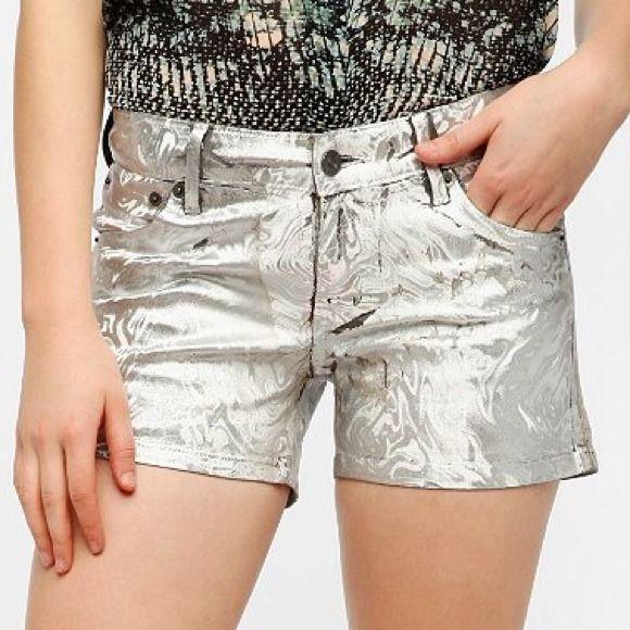 Kill City Melt Iridescent Shorts