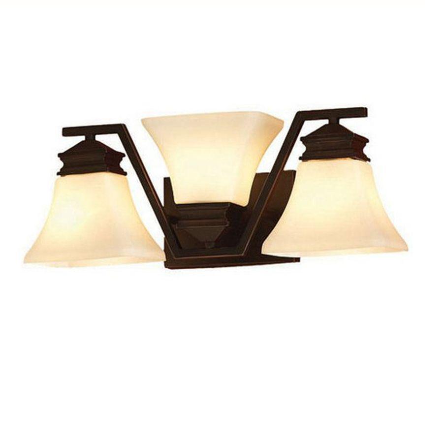 allen roth 3 light oil rubbed bronze geometric vanity light house rh ar pinterest com