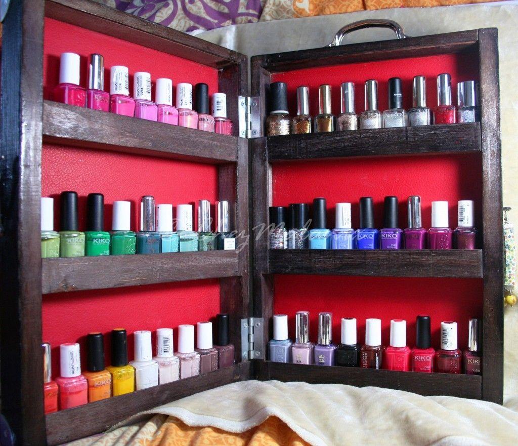 Nail Polish and Nail Art tool organizer   Hair & beauty   Pinterest ...