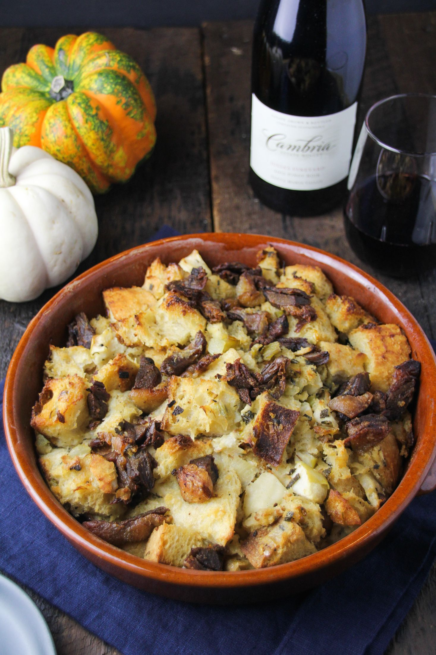Thanksgiving with Cambria // Duck Confit and Apple
