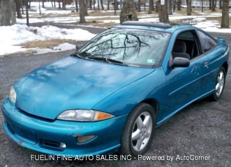 used 1996 chevrolet cavalier z24 sporty coupe under 2000 in pennsylvania pa cheap cars for. Black Bedroom Furniture Sets. Home Design Ideas
