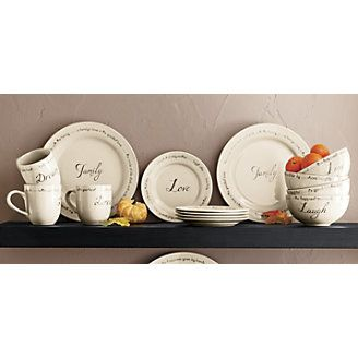 Inspirations Dinnerware and Accessories from Through the Country Door®