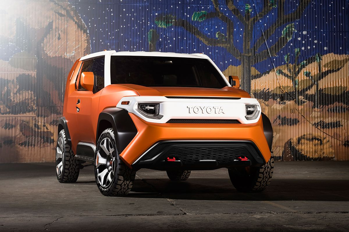 Toyota ft 4x concept is a four wheel drive toolbox conceived by toyota s calty