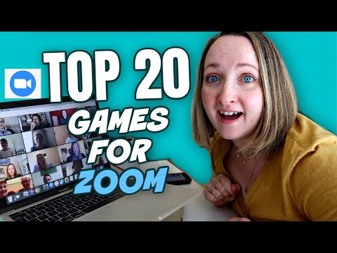 20 Fun Games To Play On Zoom Easy Virtual Zoom Games For Families Youtube In 2020 Virtual Games For Kids Online Games For Kids Games To Play With Kids