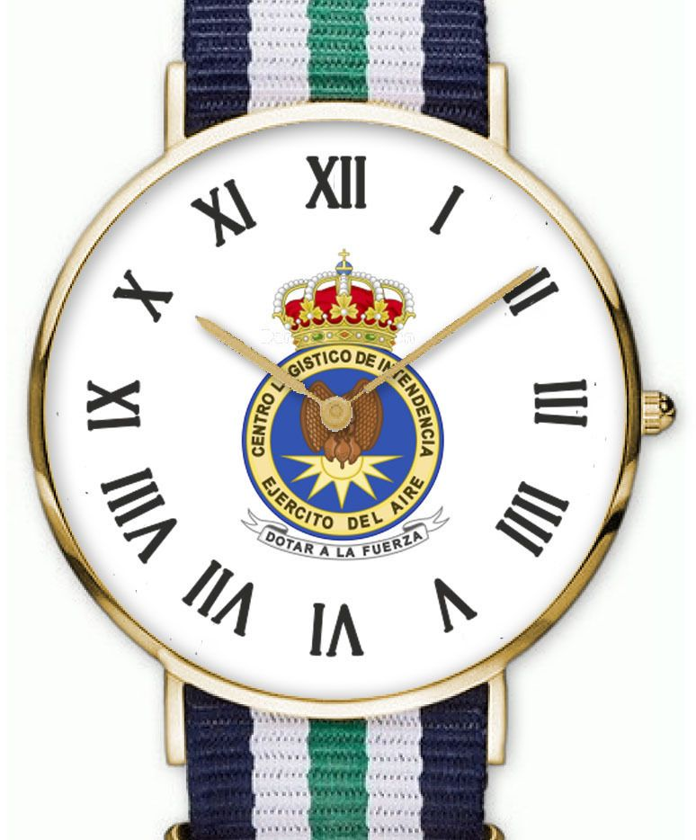 Reloj Centro Logistico Intendencia Del Ejercito Del Aire Español