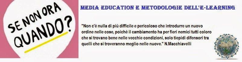 Media Education e metodologie dell'e-learning.: Il blog Media Education e metodologie dell'e-learn...
