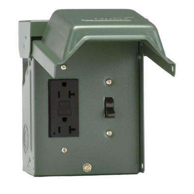 gfci switch receptacle combo wiring 20 amp backyard outlet with    switch    and gfi    receptacle     20 amp backyard outlet with    switch    and gfi    receptacle