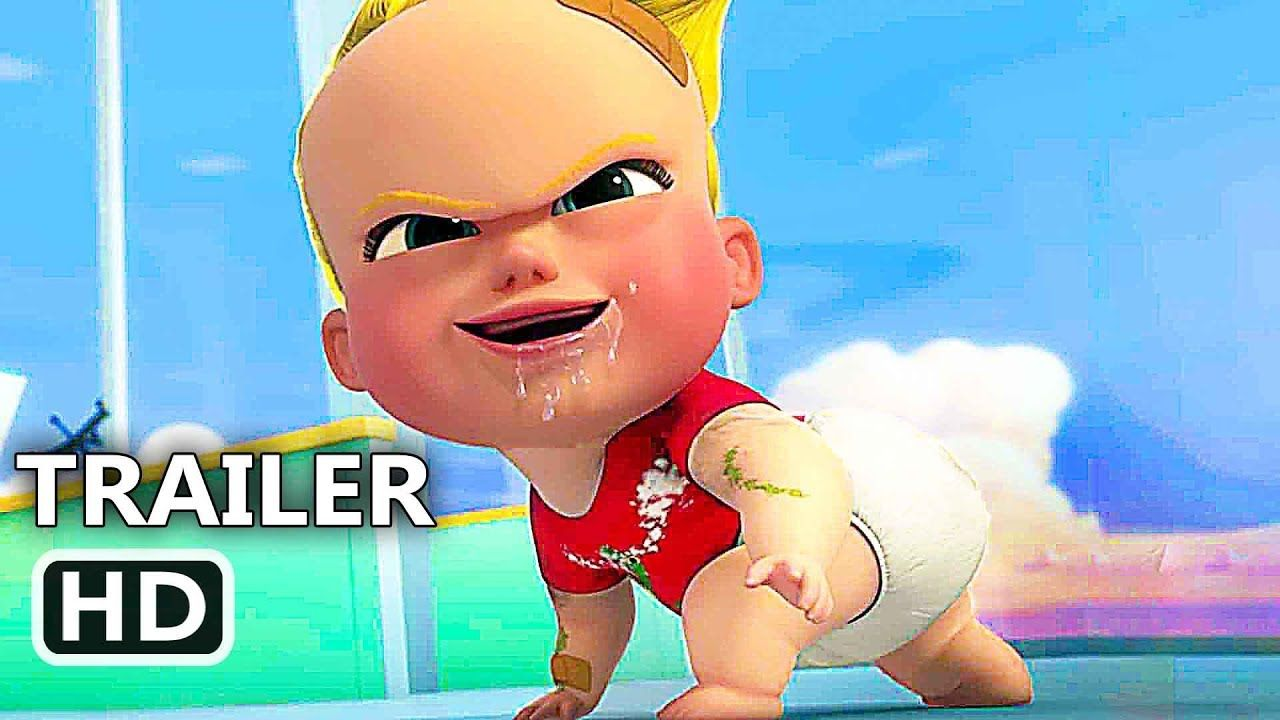 BOSS BABY Back in Business Trailer EXTENDED (NEW 2018